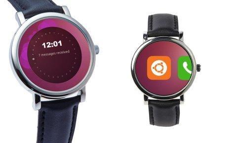 什么鬼?首款Ubuntu系统智能手表 表带既电池