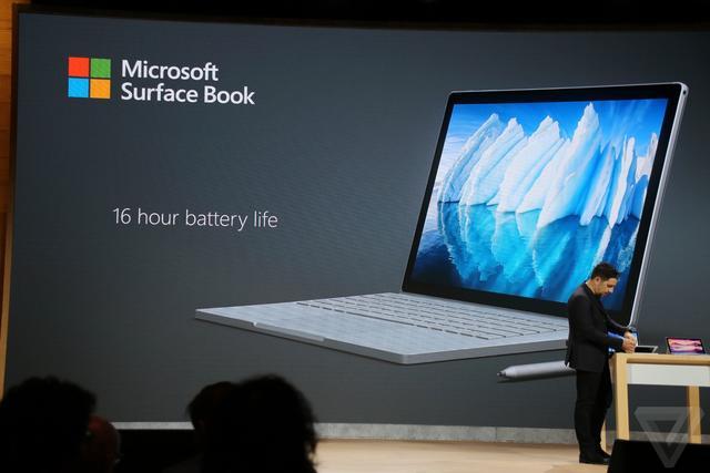 微软发布新Surface Book,i7处理器,16小时续航