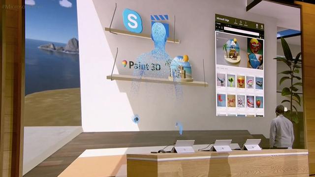 尽管微软发布了VR头盔 但它最终的野心是混合现实