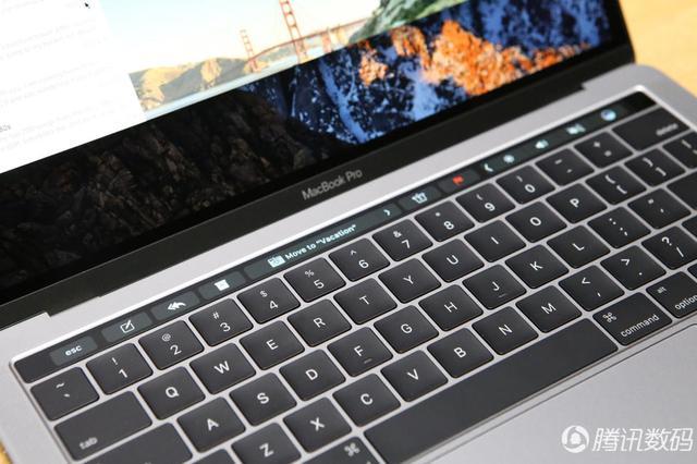 新MacBook Pro最速上手:Touch Bar交互帅到没朋友