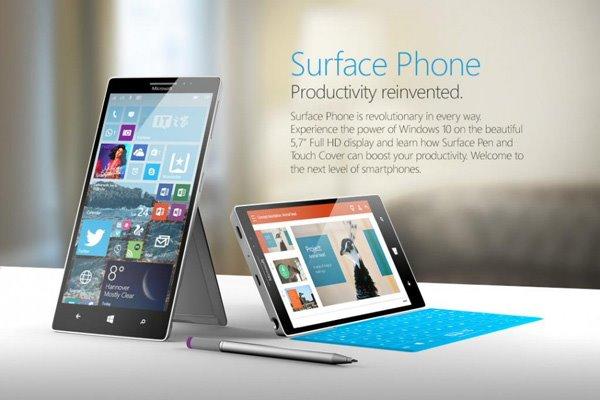 Surface Phone,有键盘盖更主机?