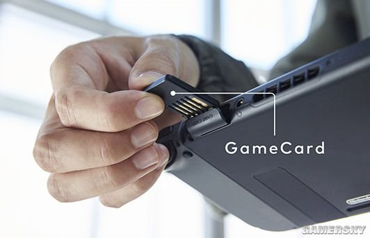 图解任天堂Switch:使用卡带、可拆卸的控制器