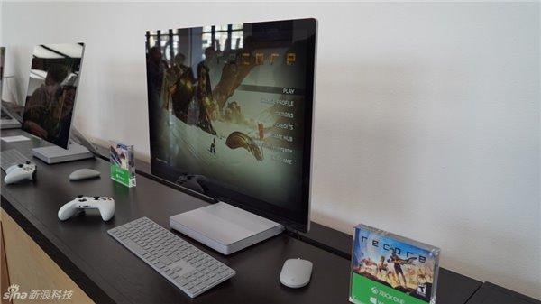 微软Win10一体机Surface Studio现场体验:28英寸震撼,尽情推倒