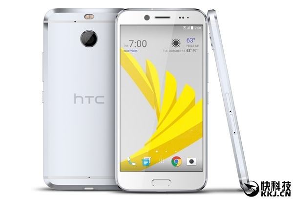 """本月发!HTC""""博尔特""""真机来了:安卓7.0、无3.5耳机孔"""