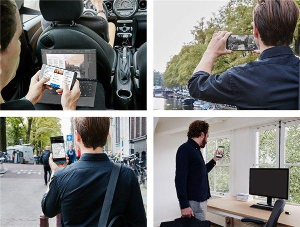 疑似Surface Phone原型机渲染图曝光:采用Intel处理器