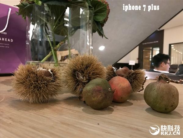 首发!华为Mate 9拍照对比iPhone 7 Plus:感受下