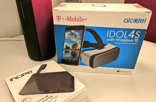 Win10手机阿尔卡特Idol 4S