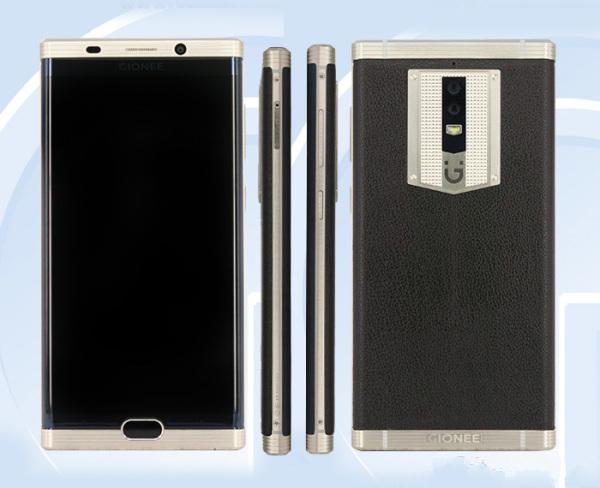 金立曲面旗舰官方曝光 电池容量达到7000毫安时