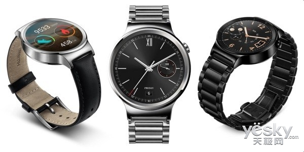 传华为将在CES 2017推出Huawei Watch 2