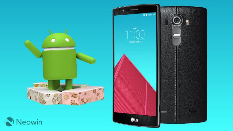 意外惊喜:LG G4将迎来安卓7.0系统适配
