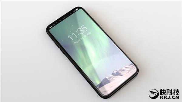 边框没法忍!iPhone 8最终版外形曝光:侧边指纹
