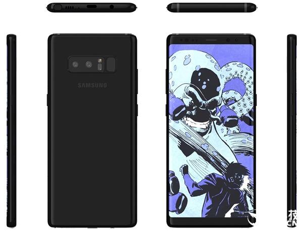 安卓最强机皇!三星宣布Note 8发布时间:全面屏更诱人