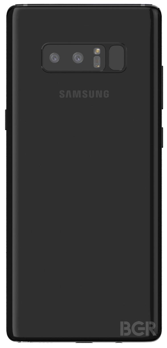三星Note8真机渲染图曝光:今年最毒全面屏机皇