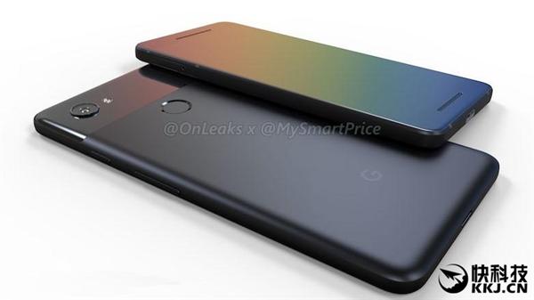 谷歌Pixel 2真机曝光:宽下巴 额头、全面屏扑空