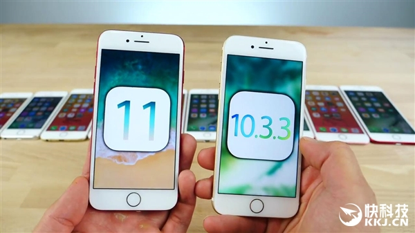 iPhone 5S/6/6S/SE/7升iOS11前后速度对比:老款悲催