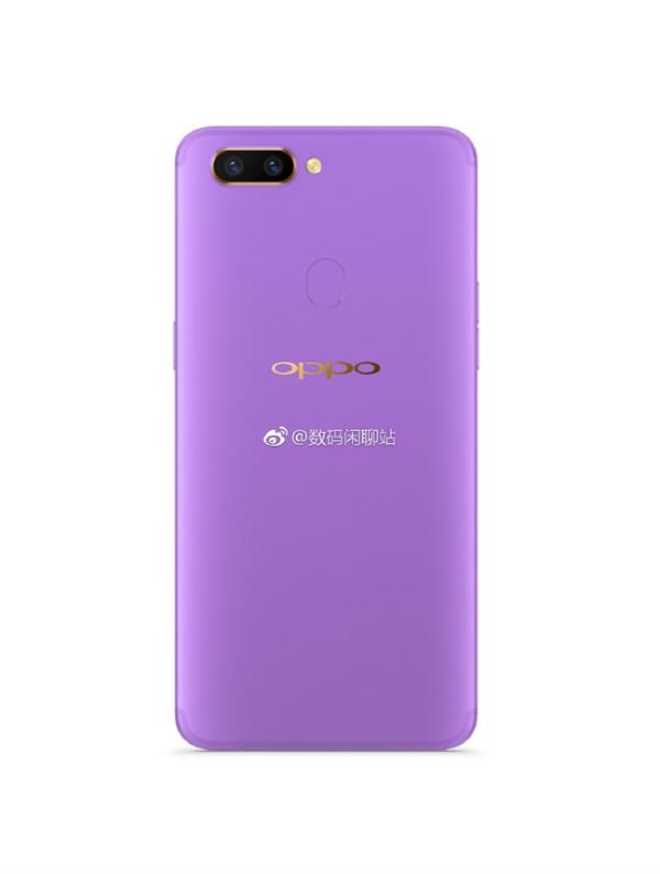 OPPO全面屏新机首曝光:外形大亮 紫色真骚气