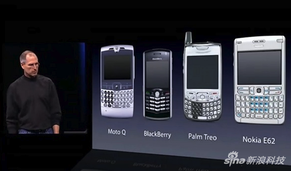 iPhone之前大多数手机的样子