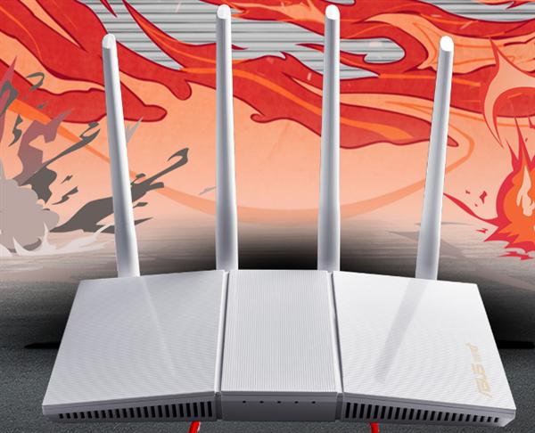 华硕首款白色Wi-Fi6电竞路由器上架:389元 限量返200E卡